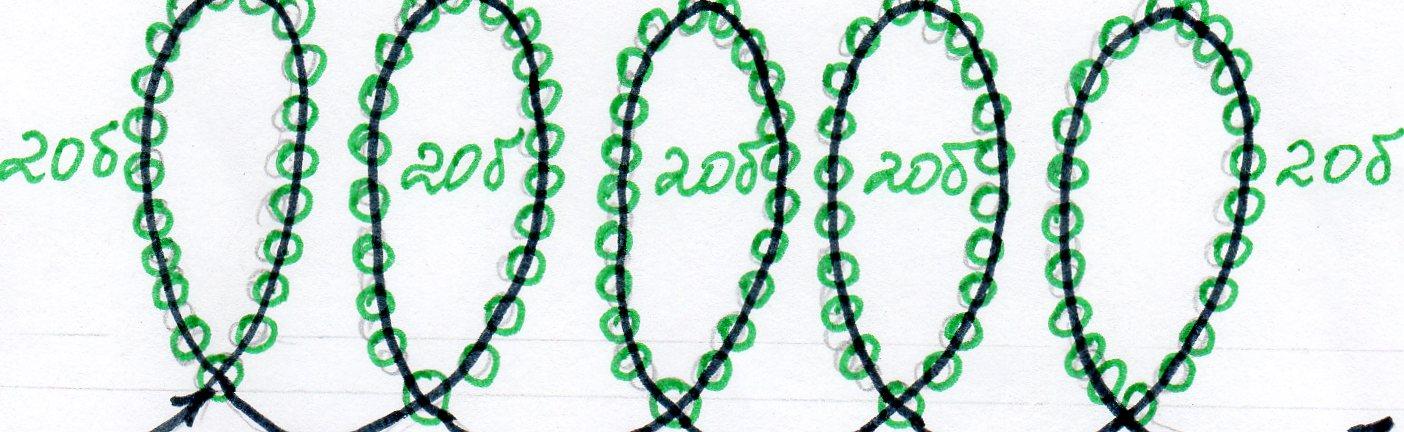 Листики для розочки плетем